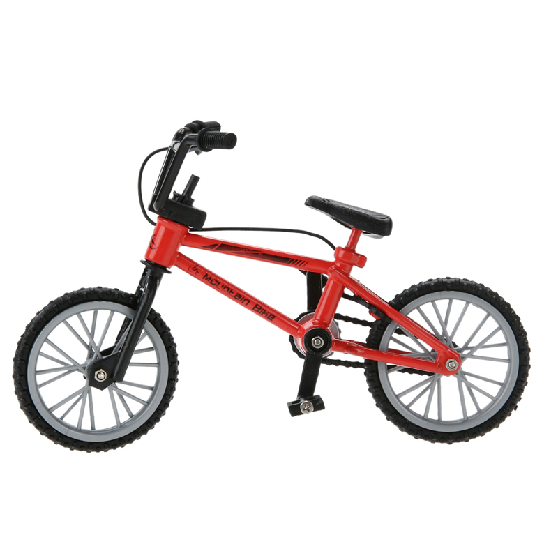 Fun Assembly Mountain Bike Toy with Spare Tire Tools Mini Bicycle Boy Toy Educational Functional Finger DIY Handwork Toy