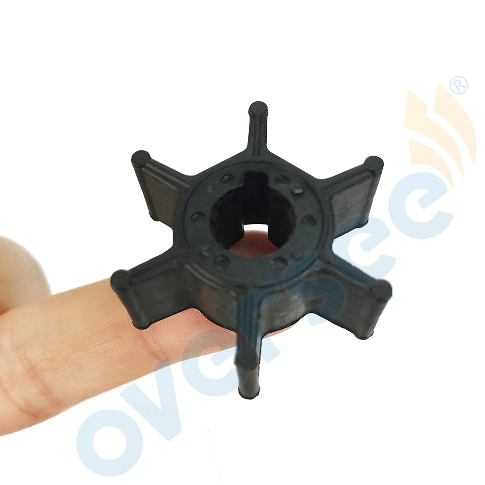 6L5-44352-00 Impeller Replaces For Yamaha Powertec 3HP F2.5HP 2 Stroke Outboard Engine Boat Motor Aftermarket Parts