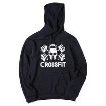 3c3dddc625c Corssfit COOLMIND CR0125H mistura de algodão preto outono homens hoodies  impressão legal mens moletons hoodies com chapéu de lã .