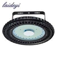 Laideyi 2 шт. 110 В 200 Вт НЛО привело высокой свет залива промышленные лампы завод склад сарай Освещение Коммерческий Завод магазин лампы