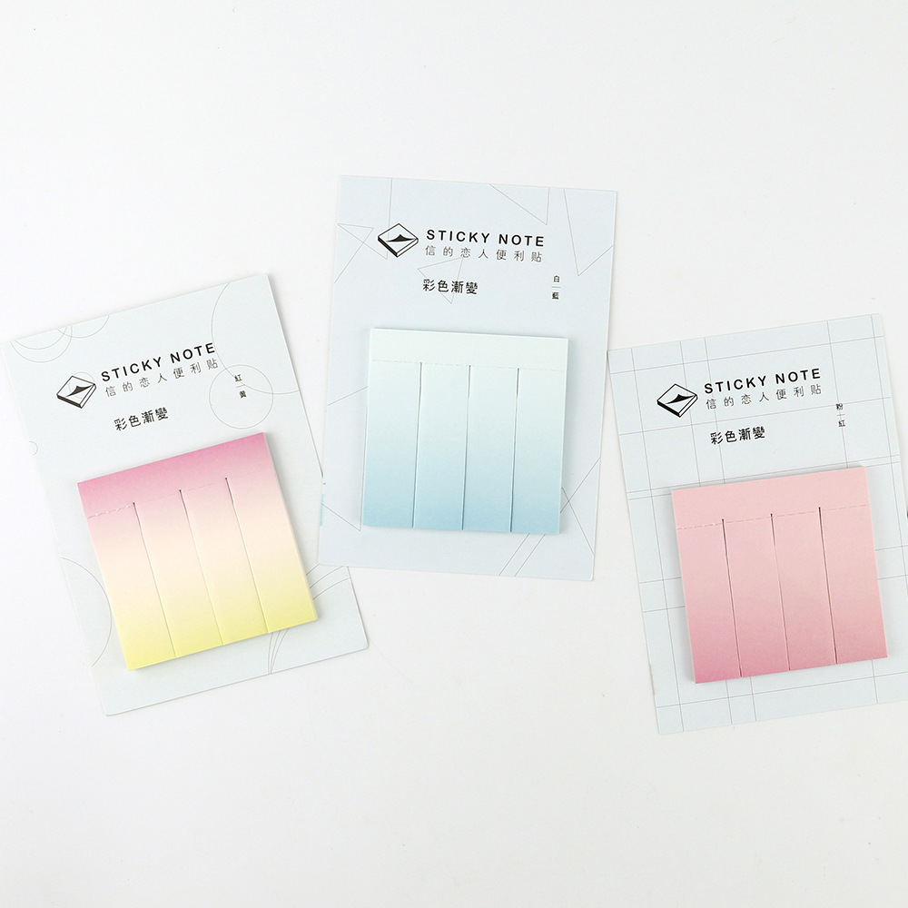 12 sets/1 lot Cartoon WaterColor Memo Pad Sticky Notes Escolar Papelaria School Supply Bookmark Post it Label