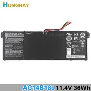 Image 2 - HONGHAY AC14B18J New Laptop Battery for Acer Aspire E3 111 E3 112 E3 112M ES1 531 B116 MS2394 B115 MP AC14B13j N15Q3 N15W4