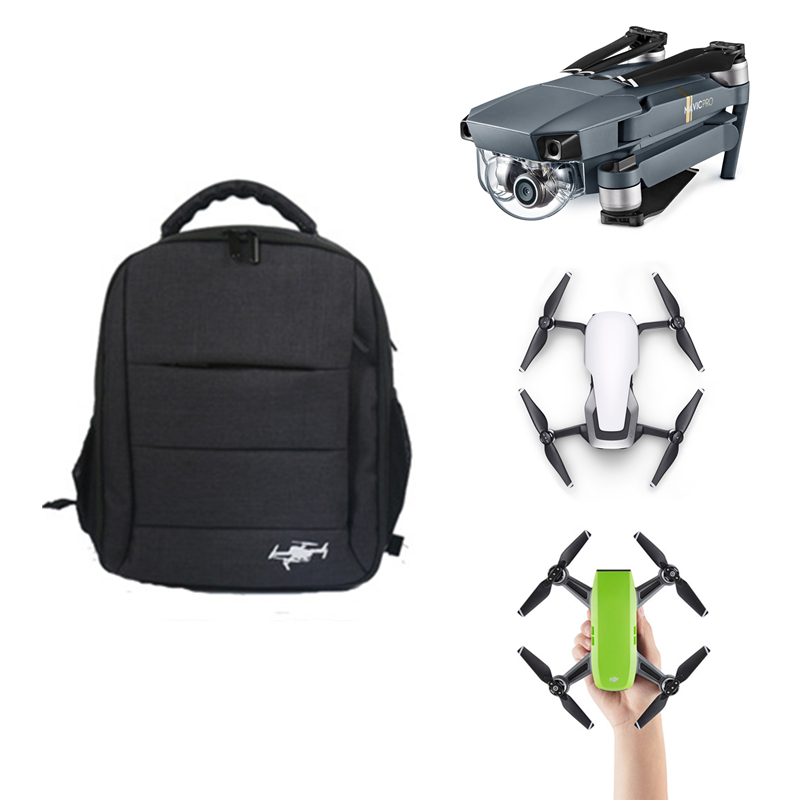 DJI Mavic Air Bag Mavic Pro Case + DSLR Camera Waterproof Backpack Portable Case Shoulder Bag for DJI Spark Drone Accessories drones box for for dji mavic air case shoulder bag storage bag backpack for dji mavic air quadrotor and accessories