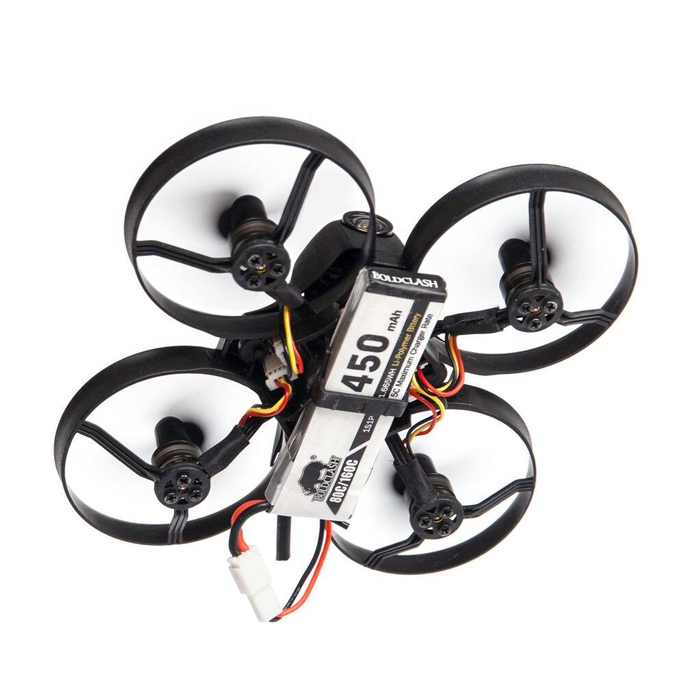 BoldClash B06 FPV Racing Drone F3 BLheli 15000KV M0703 800TVL Caméra 25 mw 48CH VTX 3x Batterie