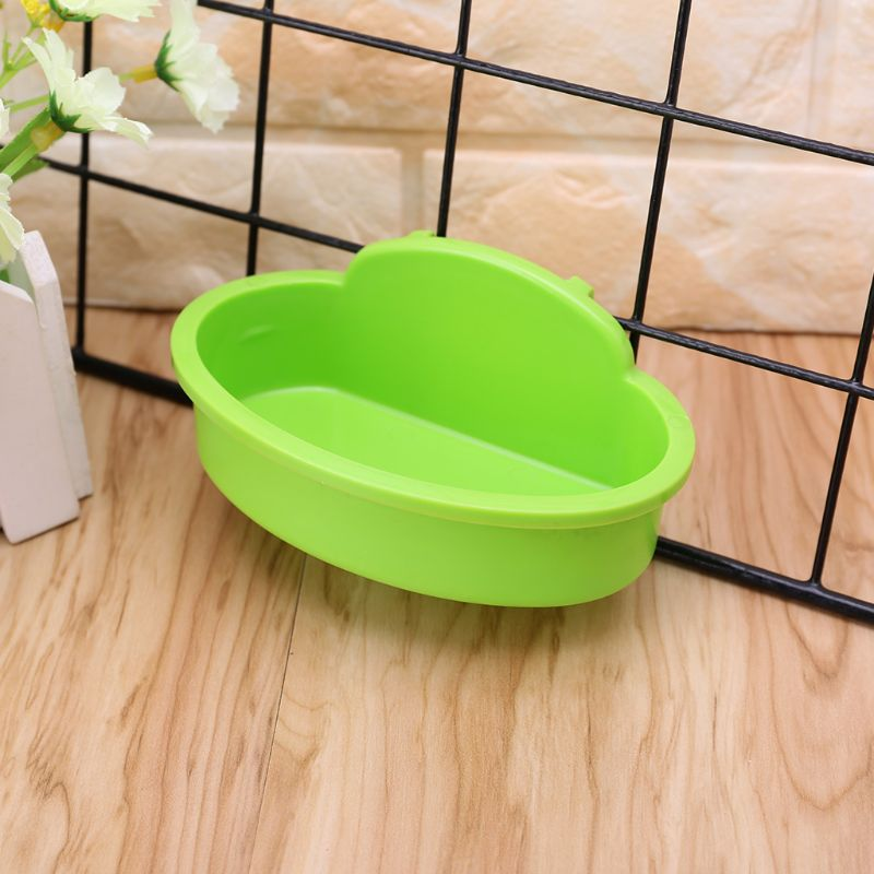 Bird Hamster Bowl Small Pet Cage Hanging Drink Food Feeder Cup Feeding Bathing Tools Rabbit Feeder Feeding Watering Supplies