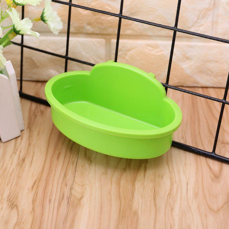 Bird Hamster Bowl Small Pet Cage Hanging Drink Food Feeder Cup Feeding Bathing Tools Rabbit Feeder Feeding Watering Supplies