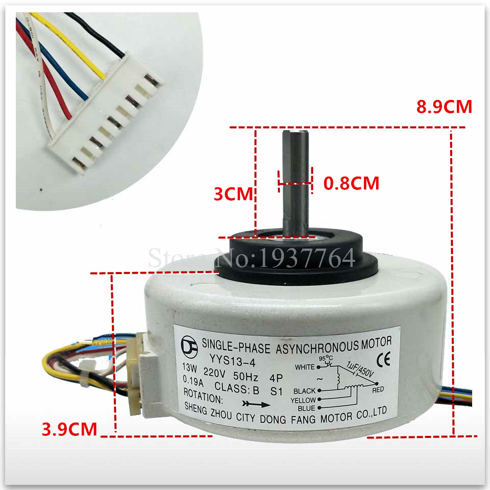 100% new for air conditioning Air conditioner Fan motor DC motor YYR13-4 цены