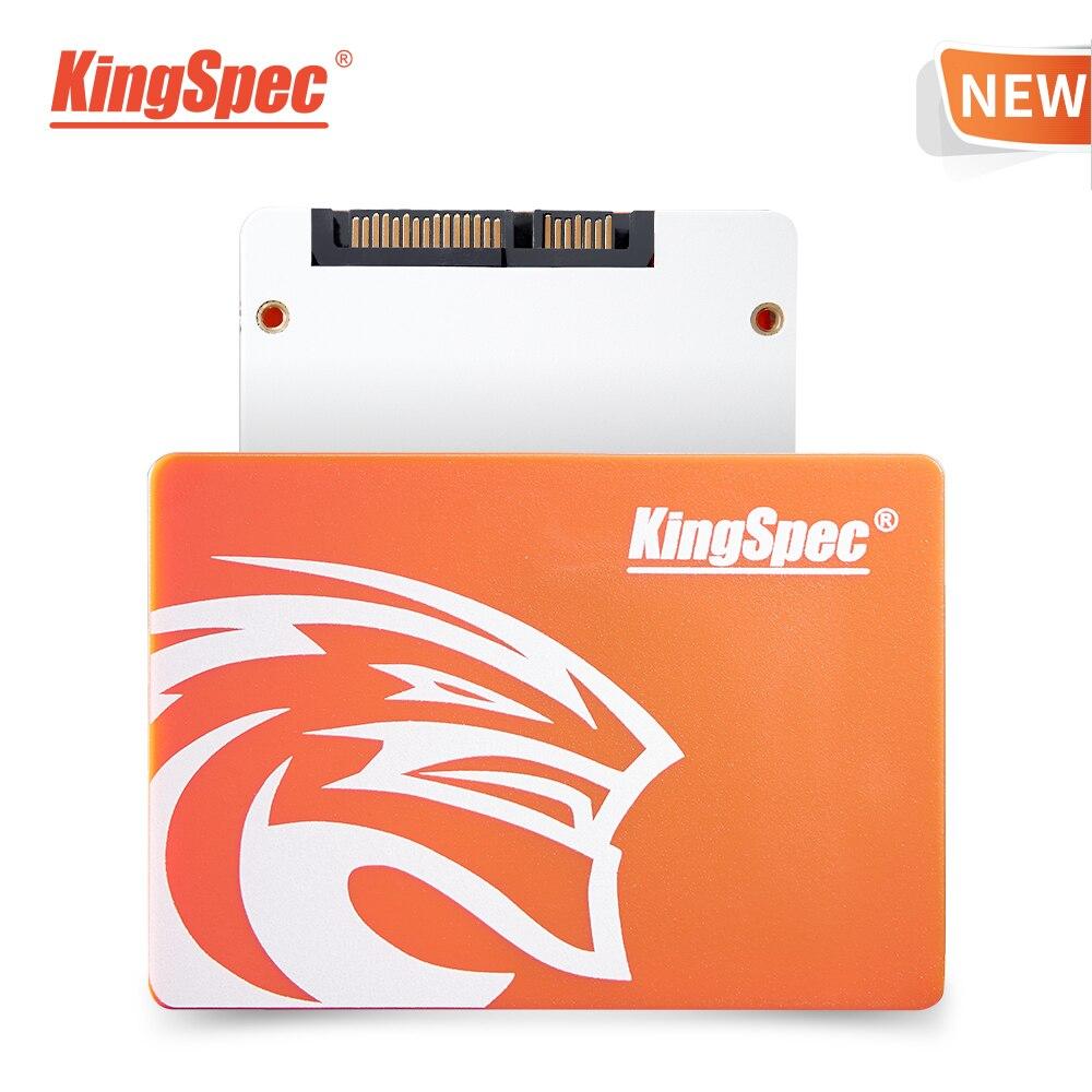 KingSpec 2.5 SATA3 Disco SSD de 120GB HDD SATA III SSD de 240GB Interno de 480GB Sólido Disco Rígido de Estado para o Desktop Laptop Interno