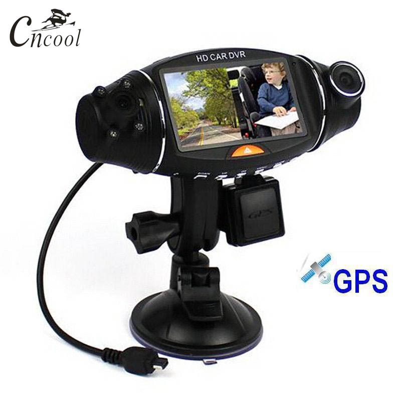 Cncool IR Car DVR Camera Car DVR GPS Dual Camera HD 1080P Night Vision Dual Lens DVR Recorder Dash Cam 2.7 Video Recorder R310Cncool IR Car DVR Camera Car DVR GPS Dual Camera HD 1080P Night Vision Dual Lens DVR Recorder Dash Cam 2.7 Video Recorder R310
