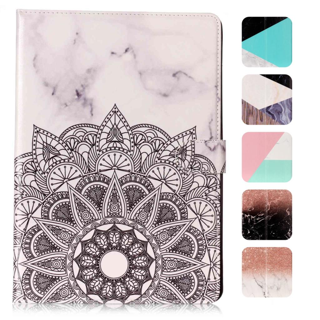 for Apple iPad Mini 1 2 3 Case Tablet Flip Cover Stand for iPad Mini 1/2/3 Funda Magnet PU Leather Coque Capa Marble Pattern