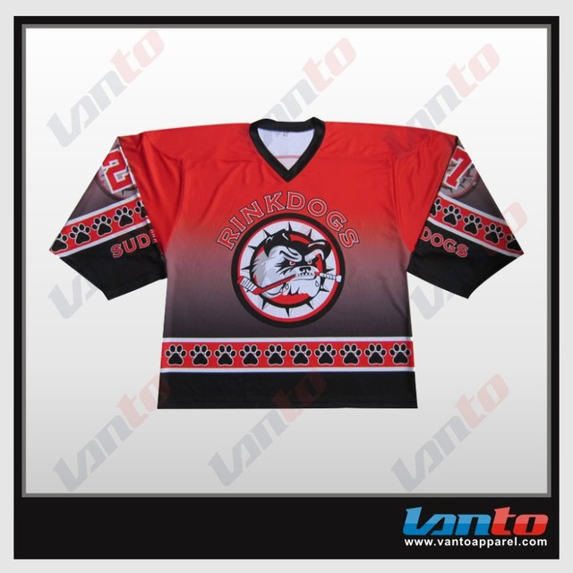 Wholesale Blank Sublimation Inline Custom Hockey Jersey aad9ac311a7