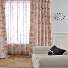 Curtains for Living Dining Room Bedroom Summer Love Window Curtain Fabric Anti Ma Living Room Bedroom Study Shade Blinds E