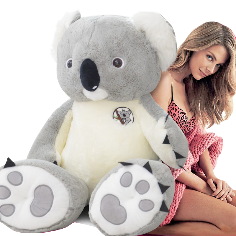 100-80cm Big Giant Australia Koala Plush Toy Soft Stuffed Koala Bear Doll Toys Kids Toys Juguetes Toys For Girls Birthday Gift