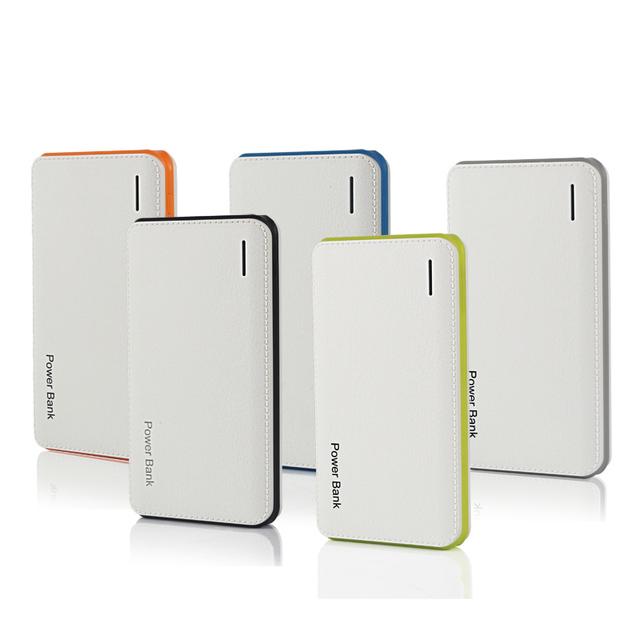 Nuevo Banco Portable de la Energía 10000 mAh Dual USB powerbank Cargador de Batería Para Todo El Teléfono de Polímero