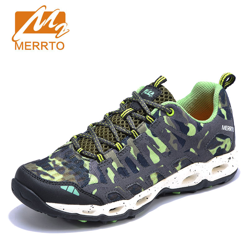 MERRTO Sports Camping Shoes for Women Tactical Outdoor Shoes Breathable Sneakers Lightweight Camouflage Waking Shoes 2018 merrto womens breathable walking sports shoes light weight outdoor camping shoes travel shoes free shipping mt18651