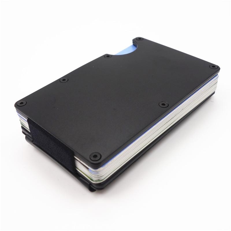 RFID Pasjeshouder met geldclip