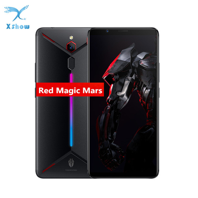"Original ZTE nubia Red Magic Mars mobile phone 6.0"" 6GB RAM 64GB ROM Snapdragon 845 Octa core Front 16.0MP Rear 8MP Game Phone"