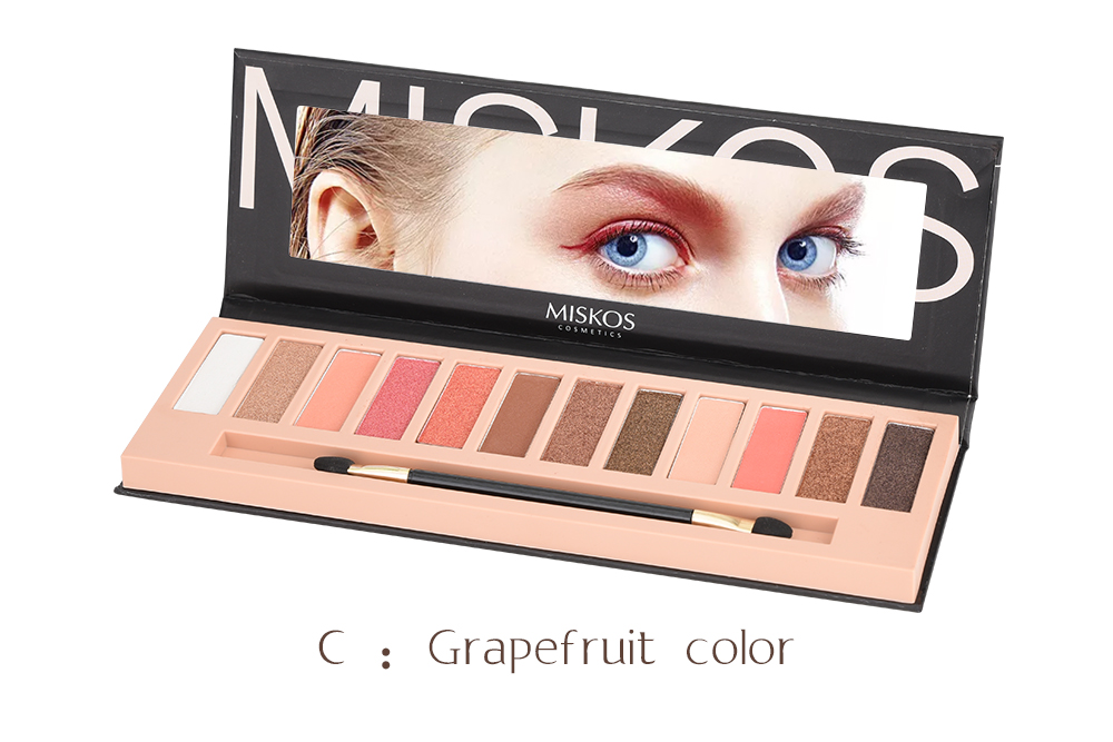 Beauty & Health Persevering Miss Rose Brand Shimmer Glitter Matte Eyeshadow Palette Waterproof Eye Shadow Long Lasting Makeup