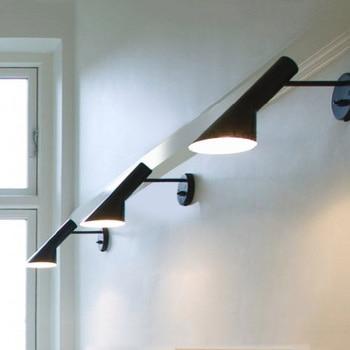 modern iron adjustable wall lamp restaurant coffee shop window corridor corridor small wall lamp