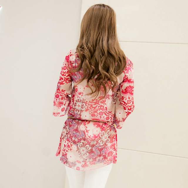 Embroidery Blouse Plus Size