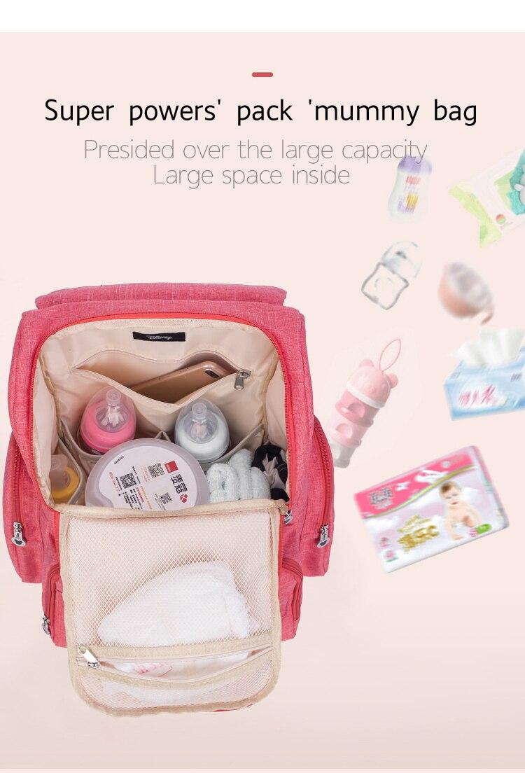 HTB1.ablAmzqK1RjSZFpq6ykSXXad Disney Mickey Minnie Large Capacity Mummy Maternity Nappy bag Baby Travel Backpack Designer Nursing Bag For Baby Care Diaper Bag