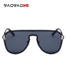 82470a6c2c TAOTAOQI New Women Luxury Metal Frameless Skull Sunglasses Women Brand  Designer Fashion Vintage Sun Glasses Men