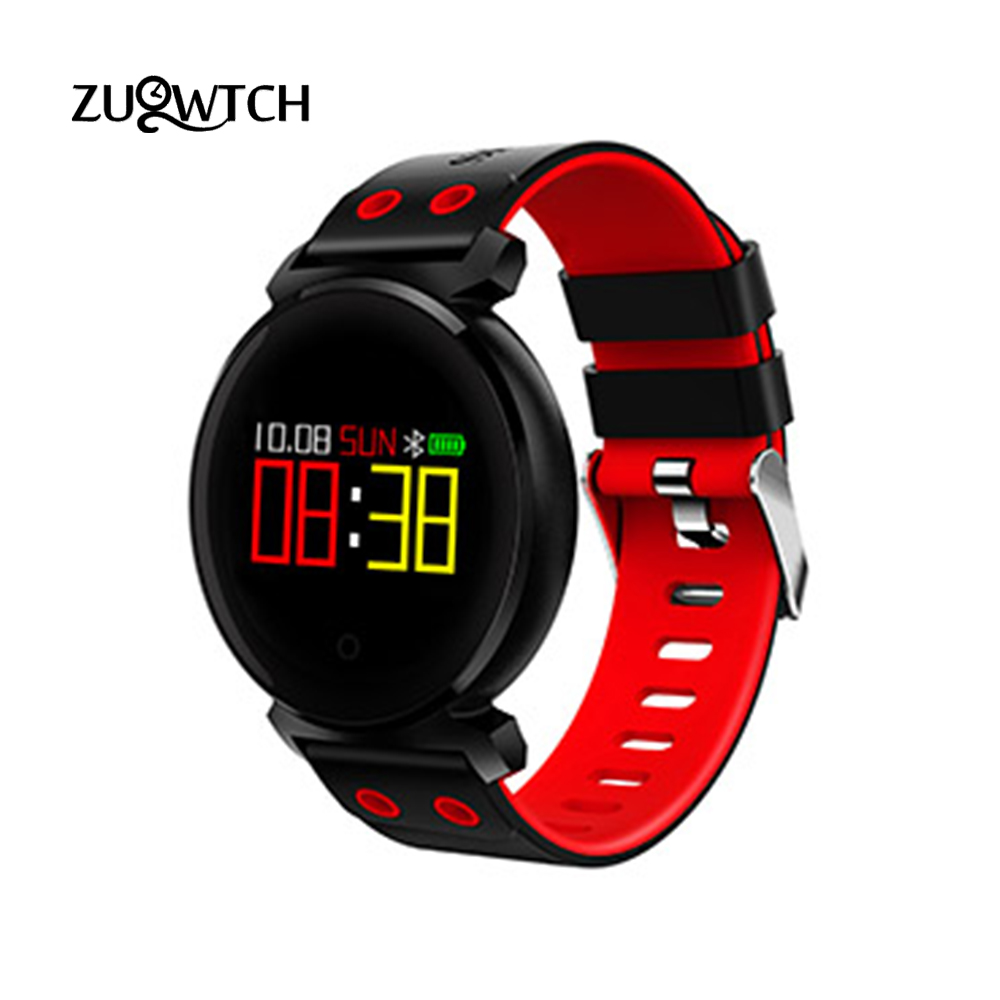 OLED Screen Smart Wristband Heart Rate Monitor IP68 Waterproof Bluetooth Smart Bracelet Fitness Tracker Android Smart Band Watch sports fitness tracker smart watch bracelet i7 bluetooth 4 0 wristband waterproof health heart rate monitor