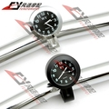 "Waterproof Motorcycle Racing Street Bike 7/8"" 1"" Handlebar Mount Clock Watch for Kawasaki Harley"