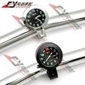 "Waterproof Motorcycle Racing Street Bike 7/8"" 1"" Handlebar Mount Clock Watch for Kawasaki Harley"