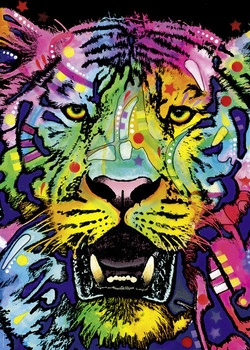 Colorful Tiger 1000 Pieces Renova Jigsaw puzzle Adult Educational Toy
