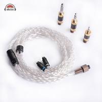 OKCSC чистого серебра мм 0,78 мм 2PIN обновления наушники кабели Awesome Plug Набор для Westone 1964