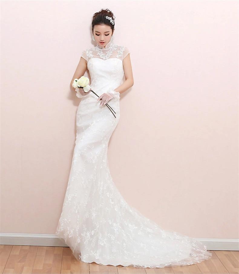 Korean Version Of The Bride Fashion Fishtail Mermaid Lace Wedding