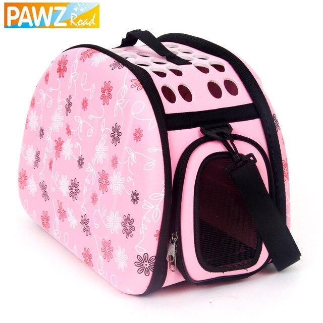 Storage Folding Pet Bags Foldable Carrier Small Dog Bag Cat Fanshional Design Externide