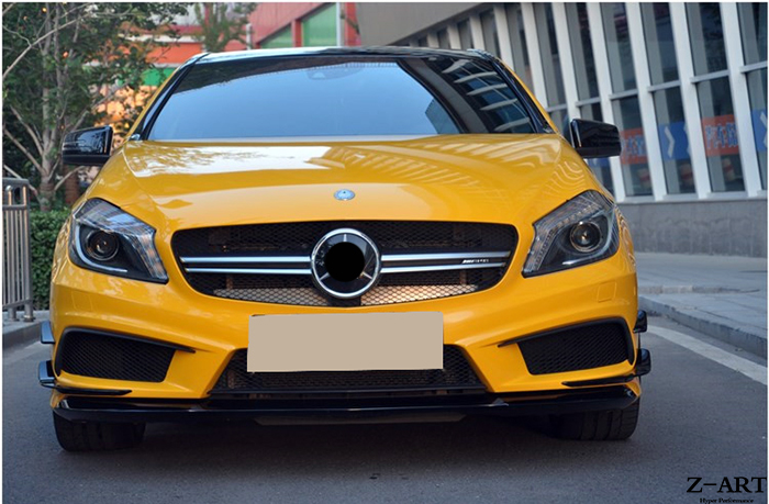 PP Plastic tuning body kit for Mercedes Benz A CLASS W176