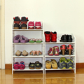 Simple Hostel Multilayer Dustproof Storage Shelf Shoe Rack Simple Shoe Shoe Specials Modern Minimalist Washable PVC