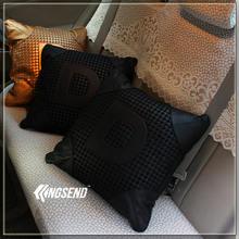 1 шт vip jdm папа вязаная подушка для автомобиля поясничная