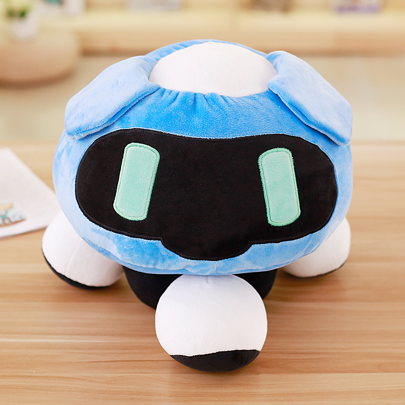 1pc 40cm Overwatches Blizzcon Mei Plush Pillow Dolls Cartoon OW Cosplay Stuffed Plush Toys Cushions Gifts 3
