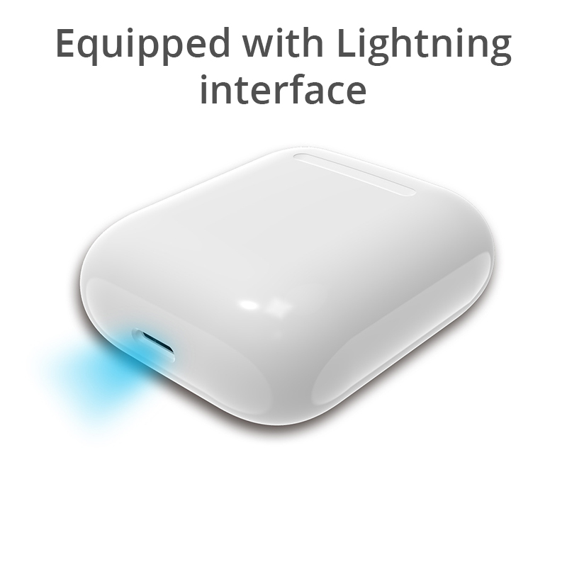 Image 5 - Wireless Charging Box For Airpods Apple Bluetooth Earphone Airpods Charger House Perfect Match Apple Headset Wireless Charger-in Mobile Phone Chargers from Cellphones & Telecommunications
