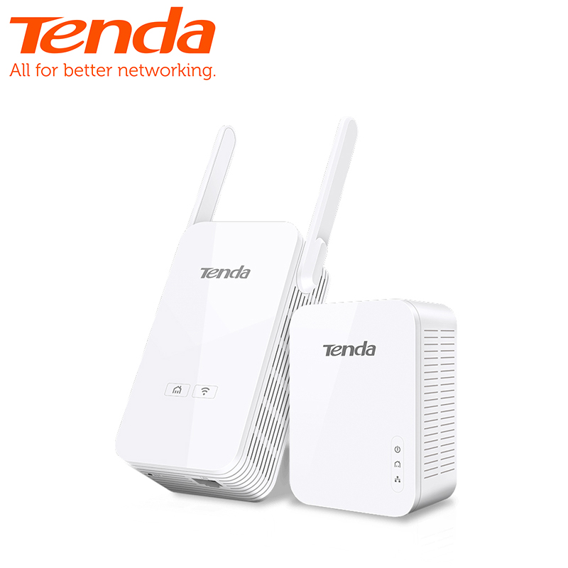 1 paire Tenda PH5 1000 Mbps KIT Gigabit adaptateur de ligne d'alimentation adaptateur réseau Powerline AV1000 Ethernet adaptateur PLC IPTV homeplug AV2