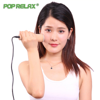 Poprelax Jade Moxa Facial Beauty Device Remove Wrinkles Natural Roller Electric Heating Therapy Health Skincare Massage Tools