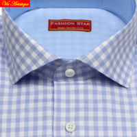 High Quality Male Long Sleeve Casual Checked Cotton Dress Shirts Men S Big Plus Size Plaid
