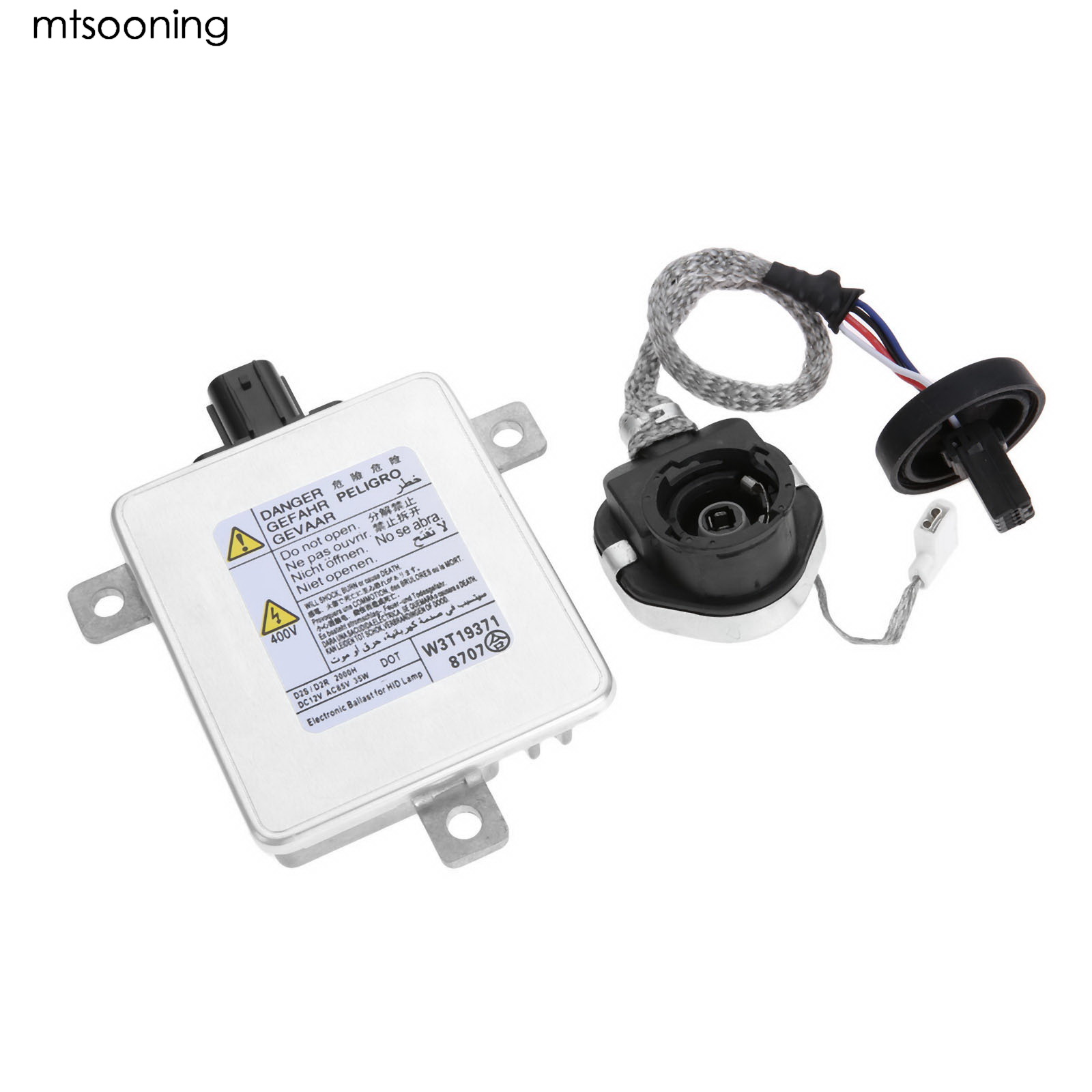 mtsooning Xenon Headlight Ballast Control Module Unit Igniter W3T19371 For 2004-2014 ACURA TSX HONDA ODYSSEY MAZDA MITSUBISHI tsxpcx3030 is for tsx premium 57 tsx micro 37 tsx nano 07 tsx naza 08 and twido plc programming with master slave switch