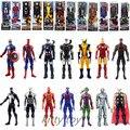 """12 """"nuevo Super Heroes El Vengador Iron Man SpiderMan Capitán América Figura de acción de juguete del bebé Los Juguetes superhéroe figuras robot ZB067"""
