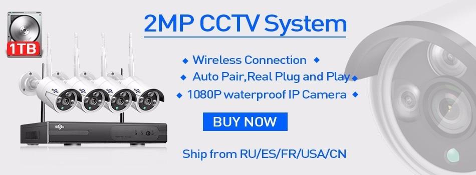 2MP Wireless CCYV System