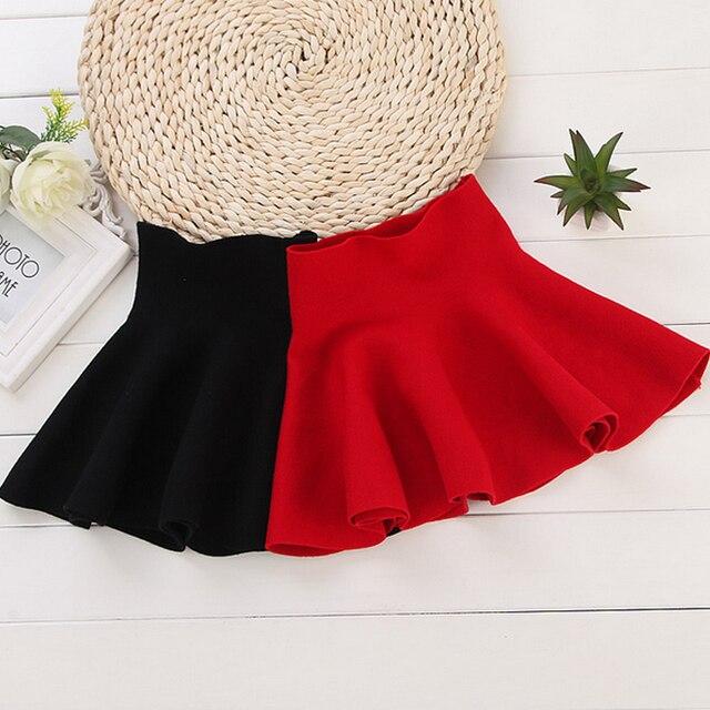 2017  Spring And Autumn New Fashion Children Clothing Kids Girl's Ball Gown Casual Skirts Girls High Waist Tutu Skirt