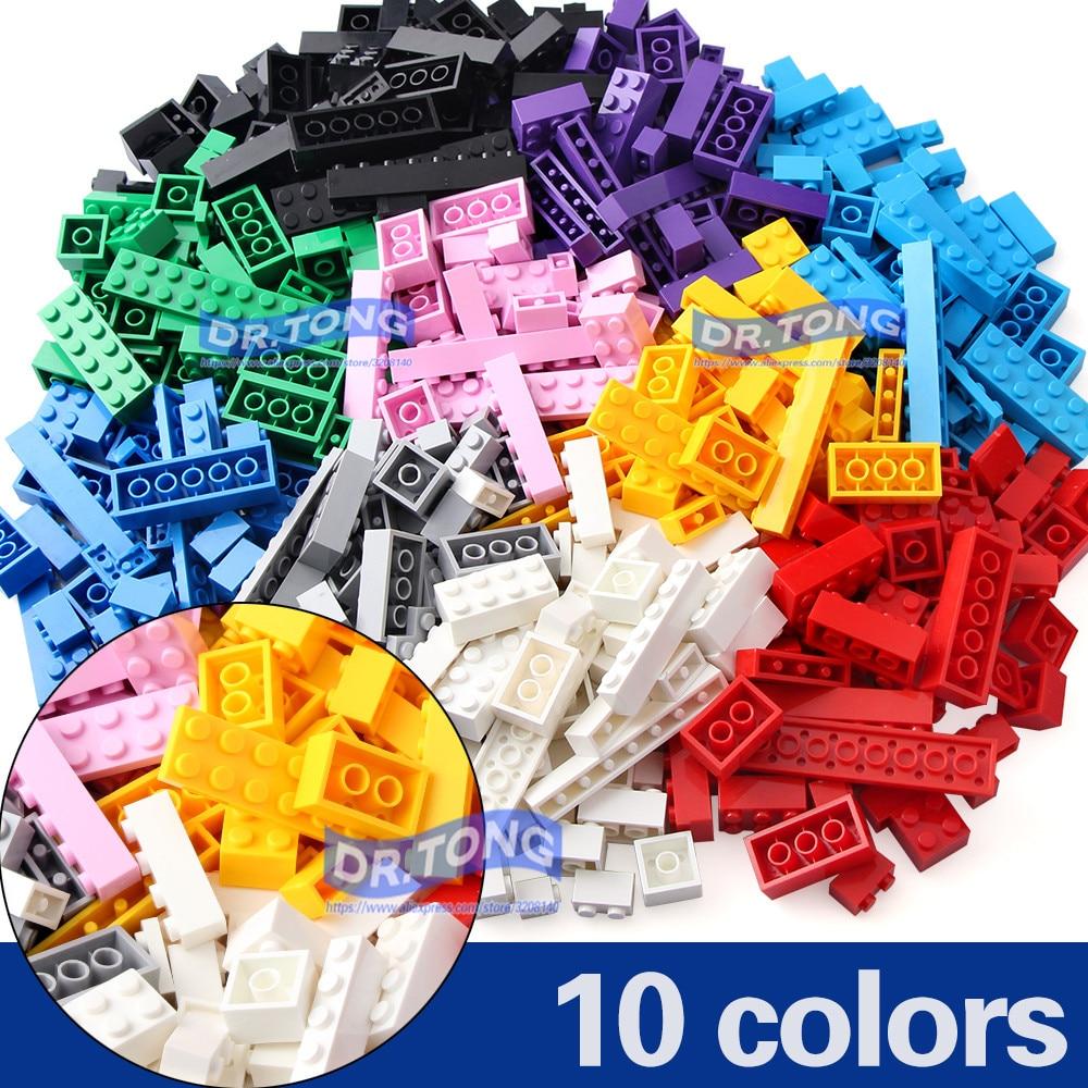 DR.TONG 500PCS Junior Basic Classic Medium Brick Building Blocks Diy Pink Blue Children Educational Toy Compatible with Top Bran детское лего brand new oem e diy abs diy educational toy brick building blocks