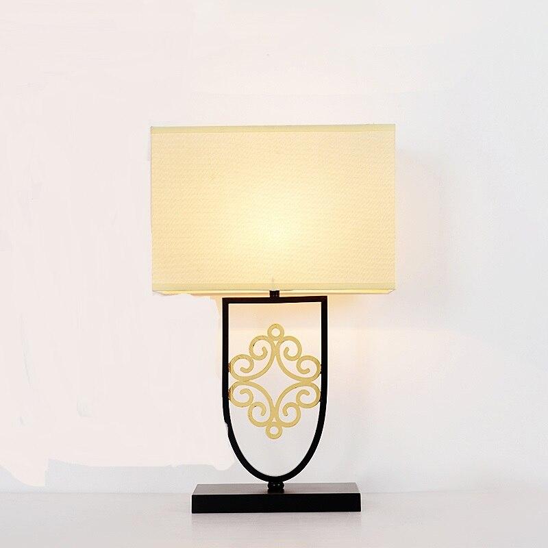 Новый китайский современный минималистский Творческий СВЕТОДИОДНЫЙ декоративные настольные лампы спальня ночники лампа house hotel ZL431