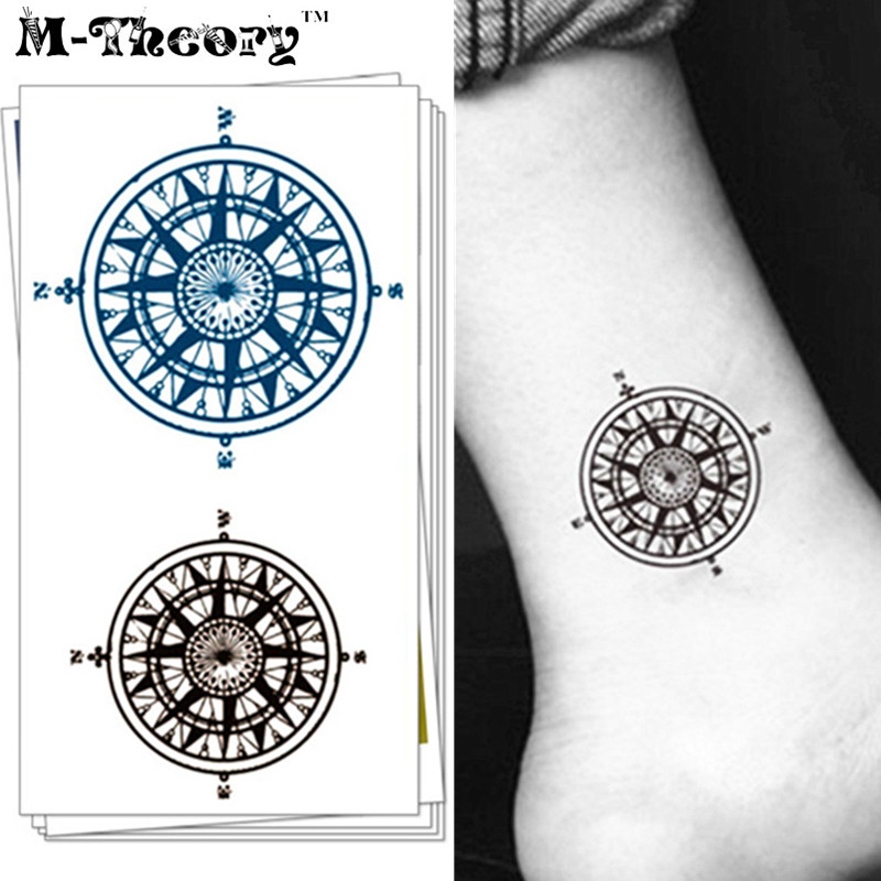 Buy compass tatto and get free shipping on aliexpress com