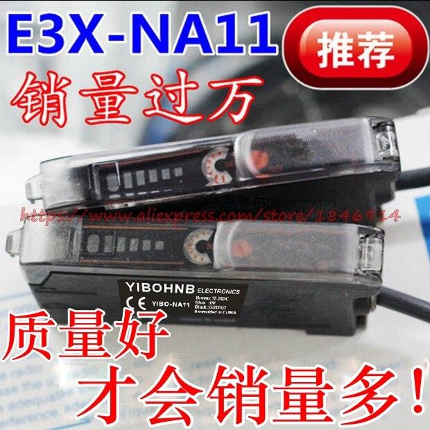 E3x na11 new original optical fiber amplifier E3X NA11 photoelectric switch fiber optic sensor