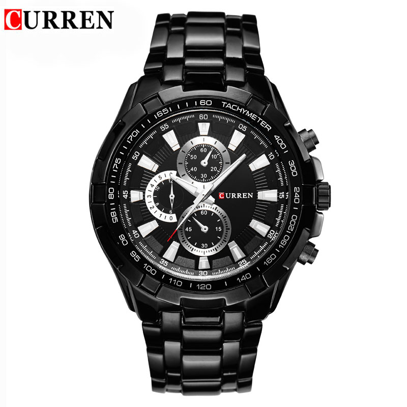 Curren Mens Watches Top Brand Luxury Business Wristwatch Men Military Sports Watches Full Steel 30M Waterproof Relogio MasculinoCurren Mens Watches Top Brand Luxury Business Wristwatch Men Military Sports Watches Full Steel 30M Waterproof Relogio Masculino
